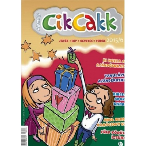 CikCakk magazin 2015/6 (december)